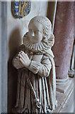 TQ9644 : Anne Tufton on Tomb of Sir John Tufton by Julian P Guffogg