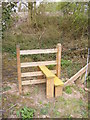 TM3976 : Stile of the footpath to Wenhaston Crossing by Adrian Cable