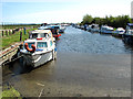 TG4010 : Private moorings at Acle Dyke by Evelyn Simak