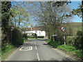 SU7791 : Skirmett Road enters Fingest by Stuart Logan