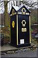 SD3585 : AA box, Lakeland Motor Museum by Ian Taylor