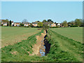 TQ6694 : Recently cleaned ditch by Robin Webster