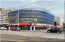 SD3036 : Burger King, Blackpool Promenade by Gerald England