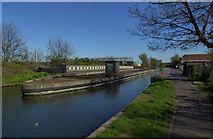 TQ1983 : North Circular Road Aqueduct, Park Royal by Julian Osley