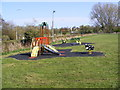 TM3876 : Children's Play Equipment at Basley Park by Adrian Cable