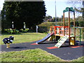 TM3876 : Children's Play Equipment at Basley Park by Geographer