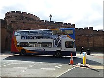 NY4055 : Stagecoach bus, Carlisle by Kenneth  Allen