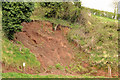 J3268 : Landslip, Minnowburn, Belfast by Albert Bridge