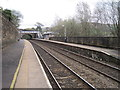 SD9904 : Greenfield railway station, Greater Manchester by Nigel Thompson