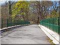 SD5807 : Haigh Country Park, Bridge over River Douglas by David Dixon