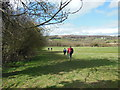 SO8509 : Walkers on the Cotswold Way by Ian S