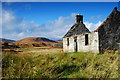NC3701 : Old Ruin In Strath Oykel by Donald H Bain
