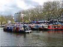 TQ2681 : Canal festival, Little Venice by Jim Osley