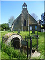 TL4065 : St Michael's Well and St Michael's Church, Longstanton by Marathon