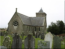 SV8915 : St Nicholas's church, Tresco by David Purchase