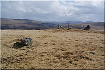 SD7695 : Cairn on Swarth Fell Pike by Bill Boaden