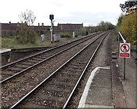 SO7845 : A view south from Great Malvern railway station by Jaggery