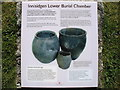SV9212 : Innisidgen Carn Lower Burial Chamber, descriptive plaque by David Purchase