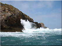 SV9017 : Rough seas on Round Island! by David Purchase