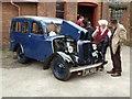 SK2625 : Claymills Victorian Pumping Station - Jowett Bradford light commercial by Chris Allen