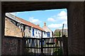 SK7519 : Old outbuildings, lane off Burton Street by Robin Stott