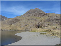 SH6354 : Crib Goch from Llyn Llydaw by Gareth James