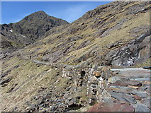SH6254 : The Miners' Track and Snowdon by Gareth James