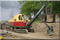 SP9427 : Ruston Bucyrus face shovel at Stonehenge Works by Stephen McKay