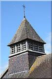 SO4313 : Tower of Llanvihangel-Ystern-Llewern church by Philip Halling