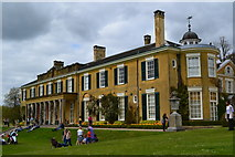 TQ1352 : Polesden Lacey on a bank holiday afternoon by David Martin