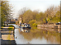 SD5705 : Leeds and Liverpool Canal, Wigan by David Dixon