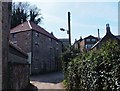 NT9928 : Former flour mill, Wooler by Barbara Carr