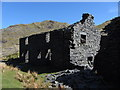 SH6646 : Barracks at New Rhosydd Slate Quarry by Gareth James