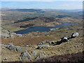 SH6745 : View over Tanygrisiau Reservoir by Gareth James