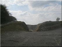 SK2173 : Eastern entrance to High Rake Quarry by John Slater