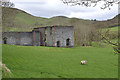 SN7074 : Ruined building, Frongoch lead mine by Nigel Brown