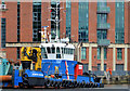 """J3475 : The """"Forth Jouster"""" at Belfast by Albert Bridge"""