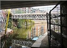 SJ9398 : Bridge #28 re-construction by Gerald England