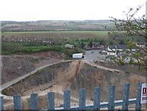 SK4023 : Breedon-on-the-Hill: the quarry by Chris Downer