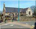 SH4752 : Llanllyfni Parish Church by Jaggery