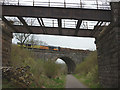 NY7308 : Freight train on the Settle - Carlisle line at Smardale by Karl and Ali