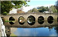 ST8260 : West side of Grade I listed Town Bridge, Bradford-on-Avon by Jaggery