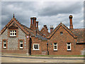 TF8943 : Holkham village, architectural detail by Pauline E