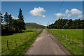 NT9716 : Road to West of Hartside by Kim Fyson