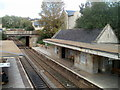 ST8260 : A rooftop view of Bradford-on-Avon railway station by Jaggery