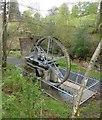 NU0701 : Overshot waterwheel on Cragside Estate by Russel Wills