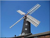 TA0233 : New  Sails  on  Skidby  Windmill by Martin Dawes