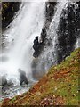 NY2906 : Rock climbing in wet conditions by Anthony Parkes