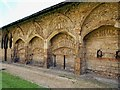 TL1998 : The Cloisters, Peterborough Cathedral by Julian Dowse