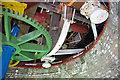 SD3434 : Little Marton Windmill - inside the cap by Ian Taylor